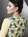 photo of Yellow Designer Party Wear Georgette Kurti