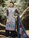 image of Black Color Cotton Palazzo Suit