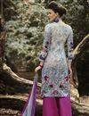 photo of Beige Color Cotton Palazzo Suit