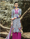 image of Magnetic Cotton Party Wear Palazzo Suit