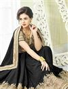 photo of Enticing Black Color Georgette Saree