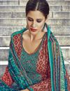 photo of Coffee Color Cotton Pakistani Style Salwar Suit