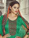 photo of Green Color Palazzo Style Cotton Pakistani Salwar Suit