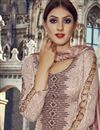 photo of Peach Color Pakistani Style Cotton Salwar Suit