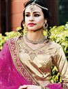 photo of Soothing Net Designer Magenta Color Embroidered Lehenga Choli