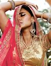 photo of Tempting Green Color Wedding Wear Net Lehenga Choli