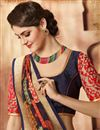 photo of Stunning Beige Color Printed Saree In Georgette Fabric