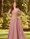 image of Embroidered Fancy Georgette Fabric Anarkali Salwar Kameez