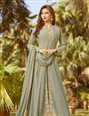 image of Embroidered Function Wear Anarkali Salwar Kameez