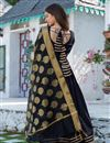 photo of Exclusive Readymade Black Color Cotton Kurti With Chanderi Dupatta