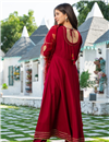 photo of Exclusive Readymade Maroon Color Kurti With Dupatta