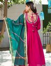 photo of Exclusive Readymade Rani Color Kurti With Dupatta
