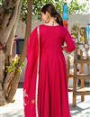 photo of Exclusive Readymade Rani Color Kurti With Doria Dupatta