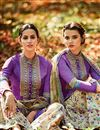 photo of Attractive Purple Color Designer Salwar Suit In Cotton And Satin Fabric With Embroidery Work