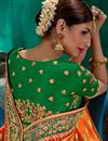 picture of Mustard Art Silk Weaving Work Function Wear Traditional Saree