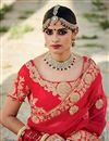 photo of Marvelous Red 3 Piece Bridal Lehenga Choli