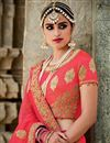 photo of Pink Color Comforting Silk Bridal Lehenga