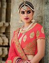 photo of Pink Color Spectacular 3 Piece Bridal Wear Lehenga