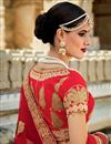 photo of Red Color Spectacular 3 Piece Bridal Wear Lehenga