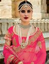 photo of Soothing Silk Fabric Bridal Lehenga Choli