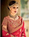 photo of Magnetic Silk Fabric Designer Bridal Lehenga Choli
