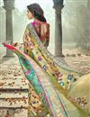 photo of Wedding Function Wear Banarasi Silk Designer Saree In Cream