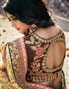 photo of Wedding Wear Heavy Work Designer Banarasi Silk Saree In Beige
