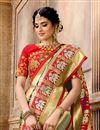 photo of Patola Silk Fabric Designer Saree In Multi Color