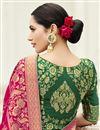 photo of Function Wear Fancy Pink Designer Banarasi Silk Saree With Weaving Work