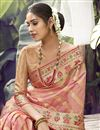 photo of Pink Color Function Wear Art Silk Fabric Weaving Work Saree
