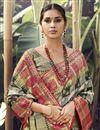 photo of Festive Wear Beige Color Art Silk Fabric Weaving Work Saree