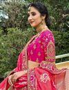 photo of Function Wear Beige Color Silk Fabric Weaving Work Lehenga Choli