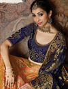 photo of Orange Wedding Wear 3 Piece Lehenga In Art Silk Fabric With Fancy Dupatta