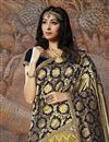 photo of Khaki Art Silk Fabric Occasion Wear Lehenga Choli With Fancy Dupatta