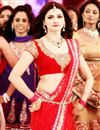 photo of Prachi Desai Police giri Red Net Replica Sari-1318