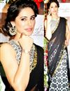 image of Nargis Fakhri Bollywood Replica Printed Saree