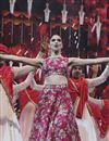 image of Pink Color Bollywood Replica Silk Fabric Lehenga Choli by Deepika Padukone