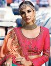 photo of Sangeet Wear Art Silk Cyan Designer Embellished Saree