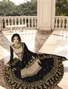photo of Designer Satin Georgette Fabric Function Wear Embroidered Sharara Top Lehenga In Cream