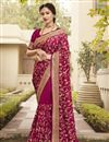 image of Party Wear Designer Art Silk Fabric Saree