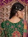 photo of Purple Color Designer Saree In Art Silk Fabric With Embroidery Designs And Attractive Blouse
