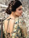 photo of Prachi Desai Wedding Wear Navy Blue Traditional Saree In Art Silk With Embroidery