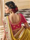 photo of Party Wear Yellow Color Alluring Art Silk Fabric Embroidered Saree