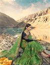 photo of Art Silk Wedding Function Wear Green Saree With Heavy Blouse