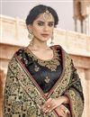 photo of Function Wear Black Color Fancy Art Silk Fabric Weaving Work Saree