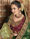 photo of Trendy Green Function Wear Art Silk Embroidered Saree