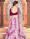 picture of Pink Color Function Wear Cotton Fabric Printed Lehenga Choli