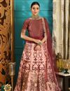 image of Traditional Function Wear Art Silk Designer Lehenga Choli In Pink