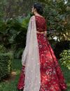 picture of Maroon Color Designer Printed Lehenga Choli