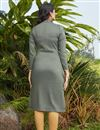 picture of Stylish Grey Color Daily Wear Simple Kurti In Cotton Fabric